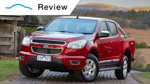 Holden Colorado Review | Holden Special Vehicles (HSV) & Holden ...
