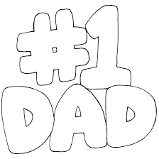 Fathers Day Coloring Pages For Son And Daughter Niceimages From