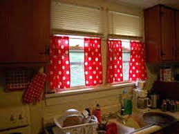 White Kitchen Curtains With Black Trim by Cherry Kitchen Curtains Red And White Black Valances Fat Chef U2013 Muarju