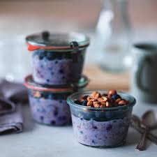 Pumpkin Pie Overnight Oats Rabbit Food by Blueberry Chia Overnight Oats Recipe By Suzanne E Key Ingredient