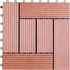 naturesort 1 ft x 1 ft 6 slate composite deck tile in