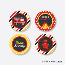 Fire Truck Chalkboard Cupcake Toppers / Non-Personalized / Instant ... Fire Engine Cupcake Toppers Fire Truck Cupcake Set Of 12 In 2018 Products Pinterest Emma Rameys Firetruck 3rd Birthday Party Lamberts Lately Fireman Firehouse Etsy Monster Cake Ideas Edible With Free Printables How To Nest For Less Refighter Boy Truck Topper Image Rebecca Cakes Bakes Pin By Diana Olivas On Diana Cupcakes Fondant Red Yellow Rad Hostess The Mommyapolis