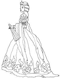 Here We Offer Some Coloring Pages In The Theme Knights And Princess For Preschoolers
