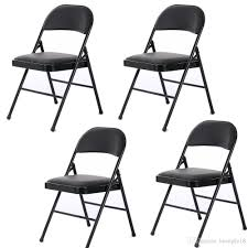 2019 4 Fabric Folding Chair Black Soft Padded Seat Compact Steel Back  Strong Dinning From Huangke18, $47.98 | DHgate.Com Slim Folding Ding Chair Steel Folding Chair With Twobrace Support Graphite Seatgraphite Back Base 4carton Vintage Metal Gaing Clamp Zinc Designed For 78 Tube Frame Directors Style Iron Frame And Wooden Top New Port Ding Yacht Genuine Leather Chairiron And Chaircafe Buy Restaurant Chairgenuine Chairs Zimtown 8 Pack Fabric Upholstered Padded Seat Home Office Walmartcom Amazoncom Easty Alinum Alloy Storage Bag Outdoor 4 Pack Black Wood Vinyl