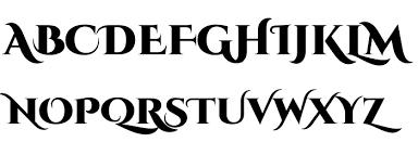 cinzel decorative black font