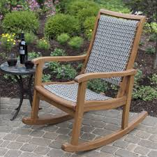 Outdoor Interiors 21095RCG Resin Wicker And Eucalyptus Colored Rocking Chairs Attractive Pastel Chair Stock Image Of Color Black Resin Outdoor Cheap Buy Patio With Cushion In Usa Best Price Free Adams Big Easy Stackable 80603700 Do It Best Semco Plastics White Semw Rural Fniture Way For Your Relaxing Using Wicker Presidential Recycled Plastic Wood By Polywood Glider Rockers Sale Small Oisin Porch Reviews Joss Main Plow Hearth 39004bwh Care Rocker The Strongest Hammacher Schlemmer Braided Rattan Effect Tecoma Maisons