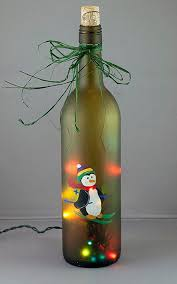 Decorative Wine Bottles Crafts by 25 Unique Lighted Wine Bottles Ideas On Pinterest Wine Bottles