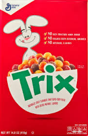 But Every Once In A While Cereal Shows Up That Needs To Be Reviewed And The Latest Iteration Of Trix From General Mills Is One Such Case
