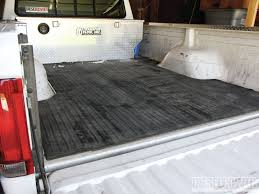 100 Rubber Truck Bed Liner DropIn Vs SprayIn Diesel Power Magazine
