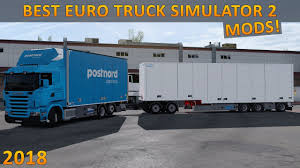 10 Must Have Modifications For Euro Truck Simulator 2 - 2018 - YouTube