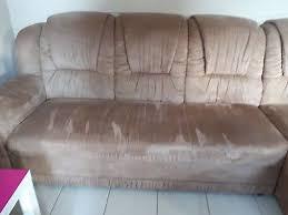 wohnzimmergarnitur eckcouch sofa mit ottomane sehr gut