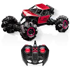 100 Monster Truck Remote Control Jive RC Dancing RC Crawler 4x4 RC Cars For Kids Red