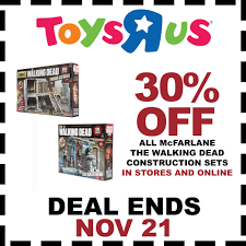 30% OFF All The Walking Dead Construction Sets Toys R Us Coupons Codes 2018 Tmz Tour Coupon Toysruscom Home The Official Toysrus Site In Saudi Online Flyer Drink Pass Royal Caribbean R Us Coupons 5 Off 25 And More At Blue Man Group Discount Code Policy Sales For Nov 2019 70 Off 20 Gwp Stores That Carry Mac Cosmetics Toysrus Store Pier One Imports Hours Today Cheap Ass Gamer On Twitter Price Glitch 49 Off Sitewide Malaysia Facebook Issuing Promo To Affected Amiibo Discount Fisher Price Toys All Laundry