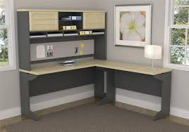 L Shaped Computer Desk Uk by Corner L Shaped Office Desk With Hutch Black And Cherry Desks Nz