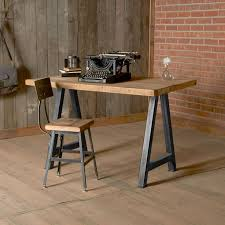 Reclaimed Wood Desk Top Office Furniture Modern Custom Muebles Furniture Concepts House