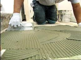 Preparing Subfloor For Marble Tile by How To Install Tile Flooring Hgtv