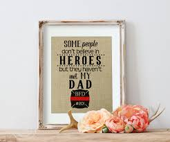 Firefighter Dad Firefighter Gift from Daughter Fireman Gift