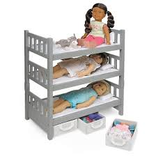Badger Basket Doll Bed by Badger Basket 1 2 3 Convertible Doll Bunk Bed With 3 Storage