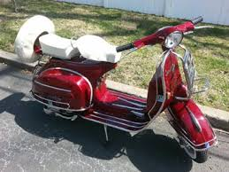 Vintage Vespa Scooters From New York By Your