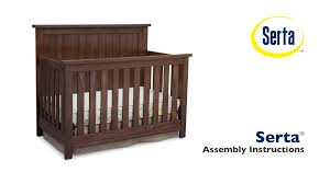 Serta Northbrook 4-in-1 Crib Assembly Video - YouTube Crib From Pottery Barn Baby Design Inspiration Hey Little Momma Haydens Room Find Kids Products Online At Storemeister Barn Vintage Race Car Boy Nursery Boy Nursery Ideas Charlotte Maes Mininursery Patio Table And Chair 28 Images Tables Chairs Offers Compare Prices Cribs Enchanting Bassett For Best Fniture Pottery Zig Zag Rug Roselawnlutheran 86 Best On Pinterest Ideas Girl