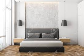 100 Modern Stone Walls Front View Of Modern Bedroom With White And Stone Walls Wooden