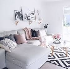 One Of My Favorite Living Rooms Pastel Pink Black Grey White