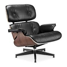 Eames Lounge Chair Replica In Black - AptDeco Eames Lounge Chair Black Ottoman Lounge Chair Replica Modterior Usa White Edition New In More Just Design 100 Leather High Quality Style And Black Palisander Herman Miller Designer Fniture Eames Style Storage Unit Walnut Cheap Excellent Vitra Collector Chicicat Alinum Group With