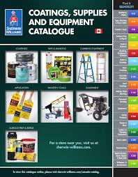 Sherwin Williams Epoxy Floor Coating Colors by Sherwin Williams Canada Catalogue Coatings Supplies
