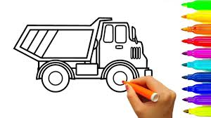 100 Construction Truck Coloring Pages Learn Colors With Dump Truck Coloring Pages Car And Construction