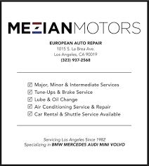 Lamps Plus La Brea Ave by Mezian Motors 57 Reviews Auto Repair 1015 S La Brea Ave Mid