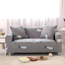 protection canapé gris extensible élastique canapé couvre setter canapé fauteuil
