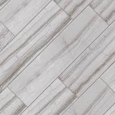 Home Depot Floor Tiles Porcelain by Marazzi Vitaelegante Grigio 6 In X 24 In Porcelain Floor And