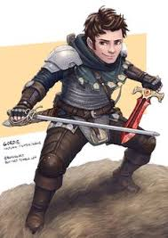M Halfling Fighter Rogue Thief Multi Class Chainmail Armor Swords Midlvl From Rpg Settings