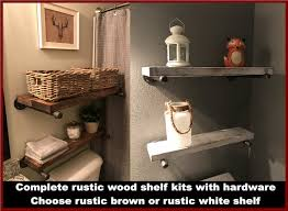 Rustic Shelves Wood Wooden