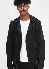 denim leather jacket daniel be edgy berlin