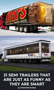 21 Funniest Semi Truck Trailers | Trucks | Pinterest | Trucks, Semi ...