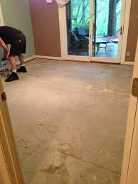 Preparing Concrete Subfloor For Tile by Painted Floors With Annie Sloan Chalk Paint