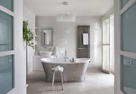 French Hotel Bathrooms Bathroom Farmhouse With White Tile