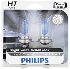 philips h7 crystalvision ultra upgrade headlight bulb