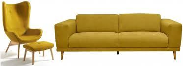 habitat canapé 2 places canape 2 places habitat 7 20 fauteuils et canap233s jaunes pour