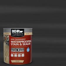 behr premium 1 gal st 102 slate semi transparent waterproofing