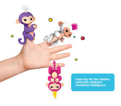 Color Fingerlings Interactive Baby Monkeys Hoybe