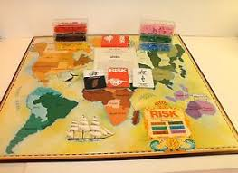 Image Is Loading Vintage Risk Board Game With Armies Cards Amp