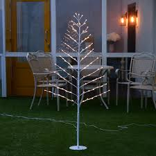 5ft Christmas Tree With Led Lights by Creative Pre Lighted 100 Warm Led Tree Light 1 5m 5ft For Home