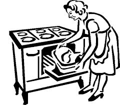 572x503 Mom Baking Pie Clipart ClipArtHut