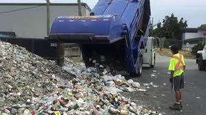 Emterra Top Select Truck No. 3065 Dropping Glass For Recycling - YouTube