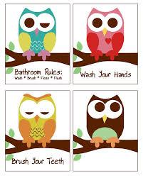 Chevron Print Bathroom Decor by Best 25 Owl Bathroom Decor Ideas On Pinterest Owl Room Decor