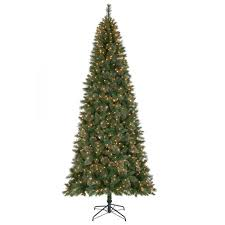 Artificial Douglas Fir Christmas Tree Unlit by Artificial Christmas Trees Christmas Trees The Home Depot