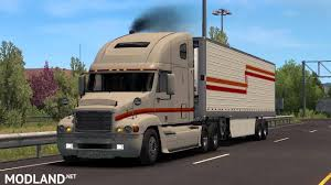 100 Century Trucking Freightliner 132x Mod For American Truck Simulator ATS