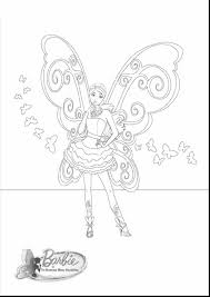 Coloring Download Barbie A Fairy Secret Pages Awesome With Mermaid